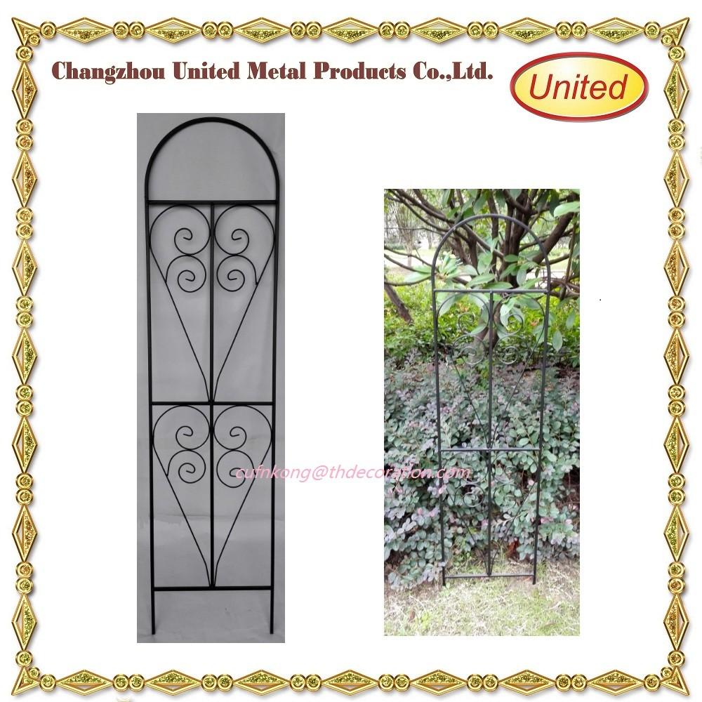 2016 Wholesale Supply Decorative Good Quality Garden Wrought Iron Metal  Trellis For Climbing Planter   Buy Cheap Wrought Iron Trellis,Garden Plater  ...