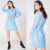 Summer Manufacturing Clothing 100% Cotton Women Dress Office