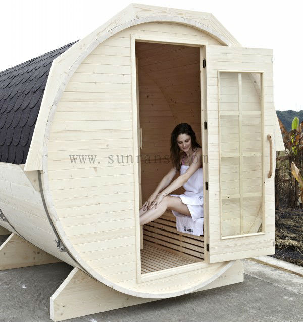6 Person Traditional Home Steam Sauna Room - Buy Home Steam Sauna ...