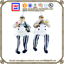 Custom chef figurine string as food brand gifts souvenir
