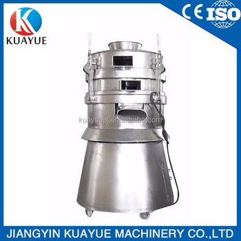 Round SUS304 Stainless Steel Vibrating Screener Sieve
