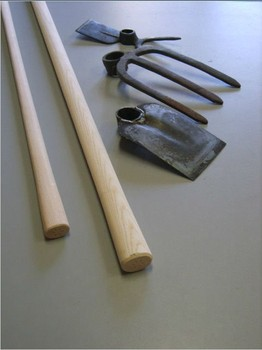 Beautiful High Quality Wooden Garden Tool Handles For Hoe