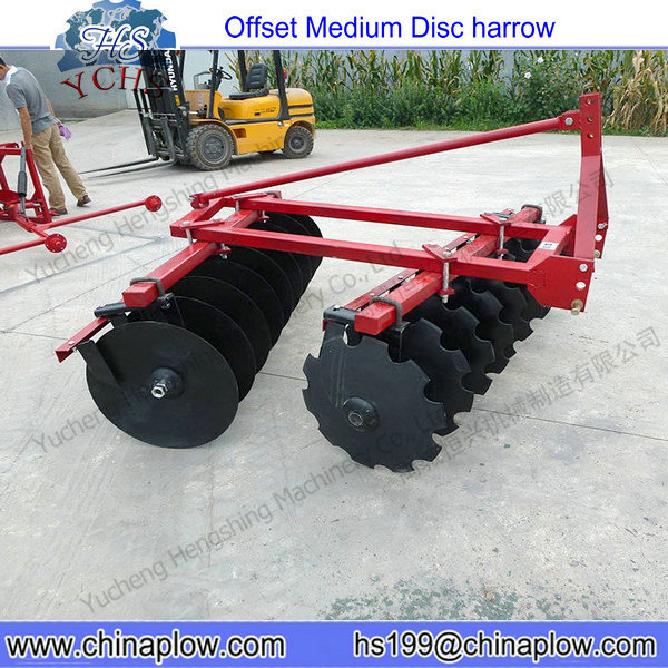 Farm Equipment Tractor Disc Harrow / Offset Middle Duty Disc ...