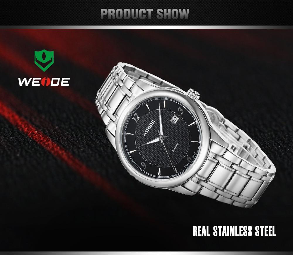 Wrist watches brands for mens - Weide 2014 Top 10 Brand Men Mens Casual Watches 30 Meters Waterproof Relogio Dress Male Clock