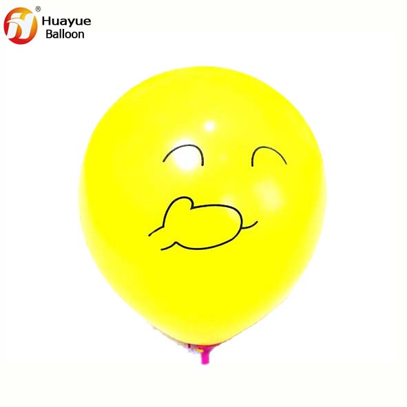 Factory supply smiley face Emoji balloons for child toy