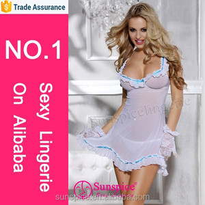 Sunspice new style top quality guarantee sexy pregnant lingerie babydoll