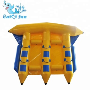 2018 new Inflatable flying fish water towable,inflatable water sled fly fish,banana boat water sport game