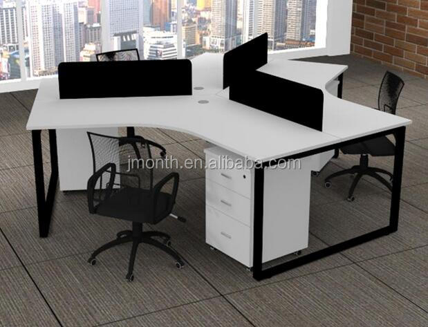 Manufacturers suppliers Commercial Furniture office cubicles 3 person workstation