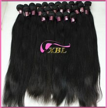 wholesale 100% brazilian virgin remy natural hair extensions bridal with full cuticles xbl hair