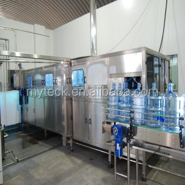 Automatic filling machine for 19L water bottles / 5 gallon barrels