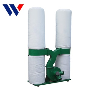 China MF9030 Low Price Electric Double Industrial Cloth Bag Wood Dust Collector For Woodworking Machine
