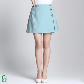 f2ab8b7a98 Sk050 Guangzhou Moda Señoras Sexy Corta Oficina Faldas Modelos - Buy ...