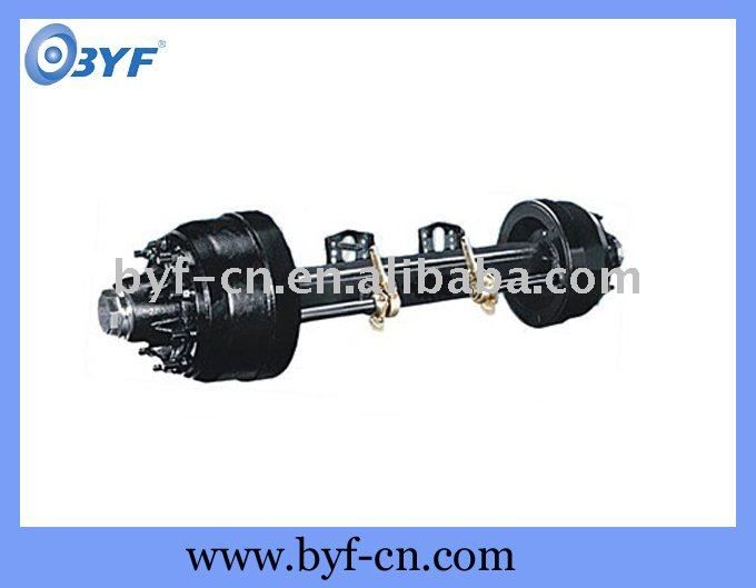 American trailer axles with round beam
