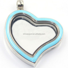High Quality Magnetic Glass Charms Floating Locket Pendant