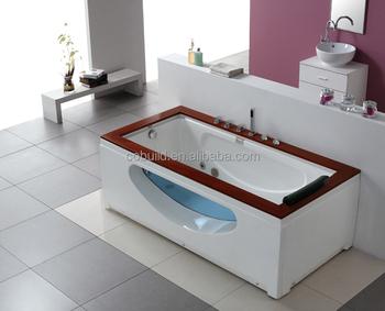 Vasca Da Bagno Freestanding Rettangolare : K 616 cina mercato sanitari singola persona legno vasca