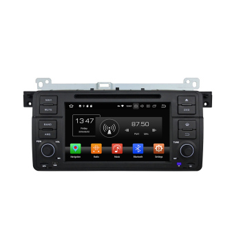 "KD-7503 Klyde 1 din dvd car player 7"" octa core 8.0 4G RAM android auto gps video, car radio with RDS/FM/AM fit for E46"