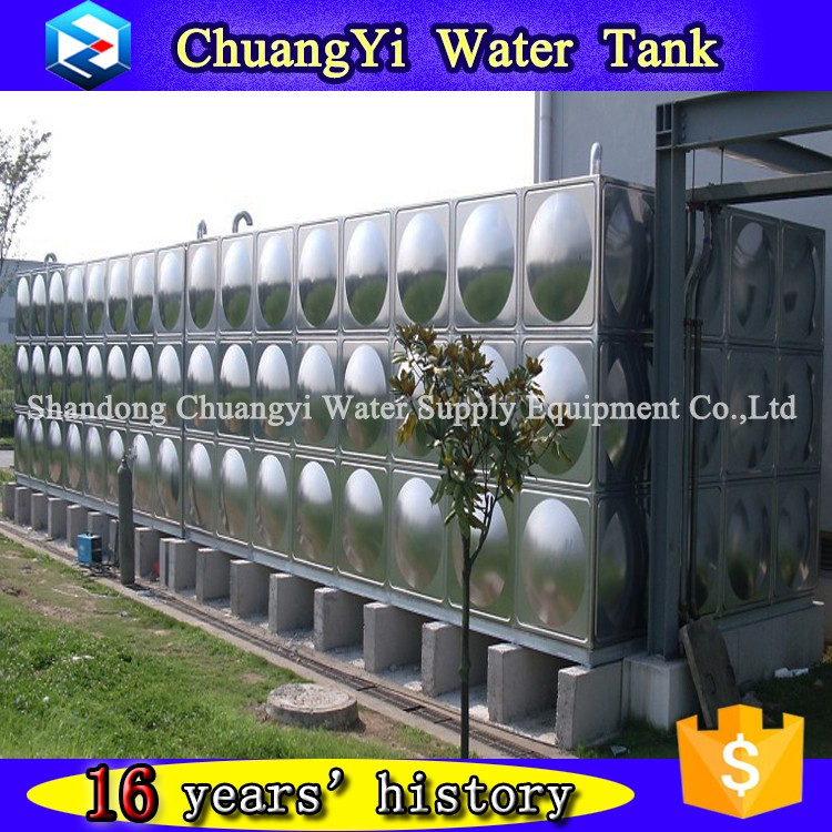 New style ss 304 316 water storage tank, SUS304 industry water storage tank, welded type water tank