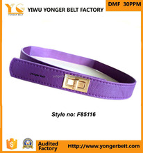 YIWU Factory Wholesale Product Colorful Fabric Elastic Stretch Waist Belt With fashion belt Buckles