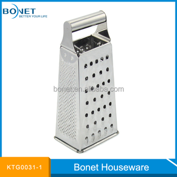 KTG0031-1 Small Full Staineless Steel Food Box Grater
