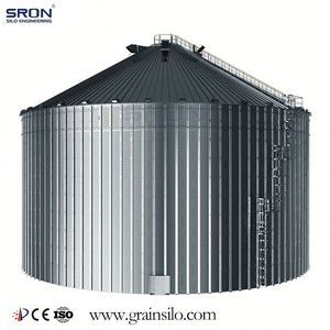 Assembly Bolted Small Metal Silo Used For Grain And Poultry Feed Storage