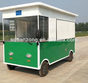 street mobile food kiosk design
