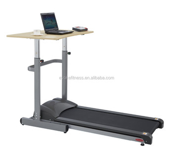Standing Desk Treadmill Workstation Walking Electric Folding Fitness  Exercise