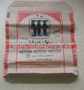 Kraft Paper Cement Bag Making Machine Production Line ...