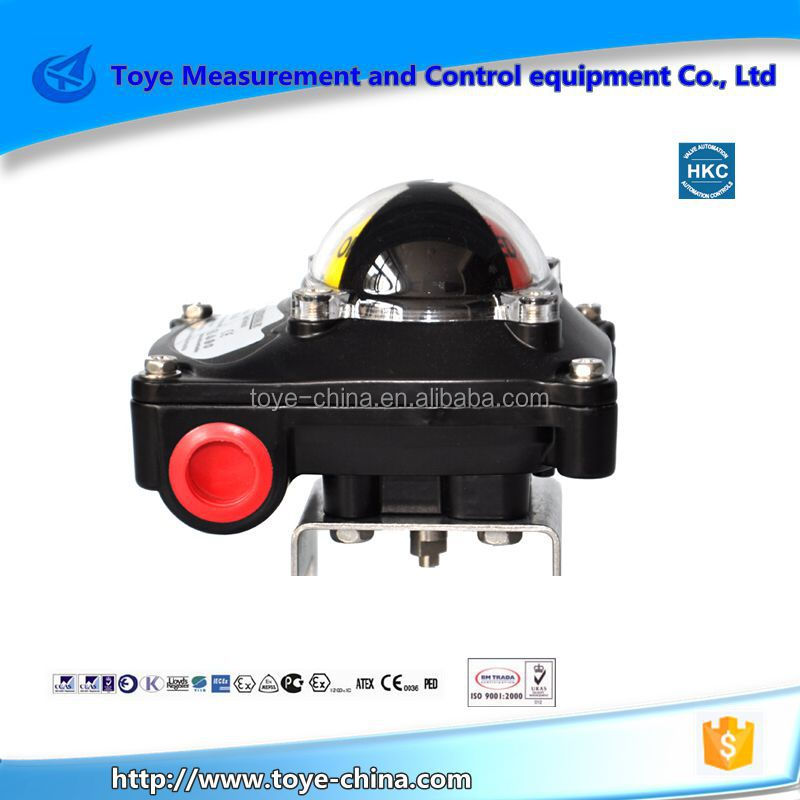 control air Valve Position Monitor limit switch types