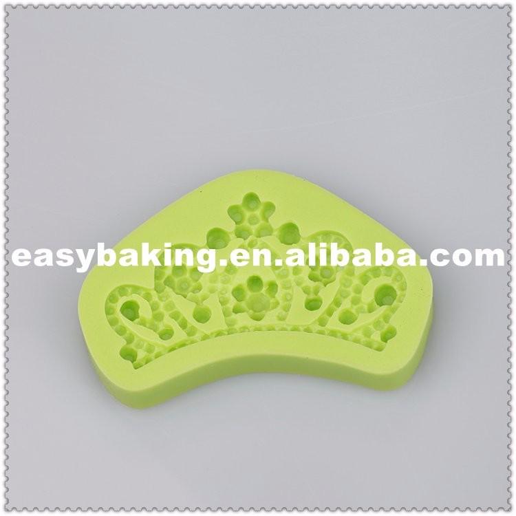 Crown Bakeware Wedding Cake Decorate Fondant Silicone Molds.jpg