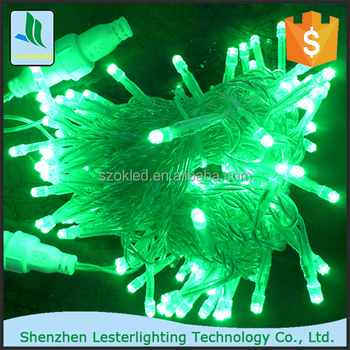 wholesale 10m 100 led string outdoor holiday decoration musical christmas tree led star string lights