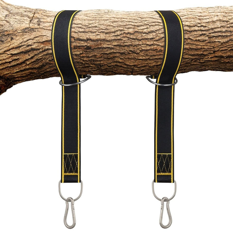 Tree Swing Hanging Kit Hammock Straps, 1800 lbs Load Capacity, Set of 2 Extra Long 9.8 ft Heavy Duty Swing Straps