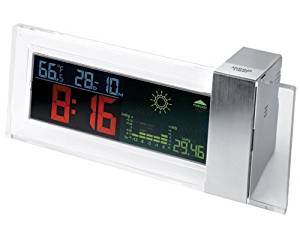 StealStreet SS-KD-959 Battery Powered Colored LCD Clock with Weather and Forecast Display