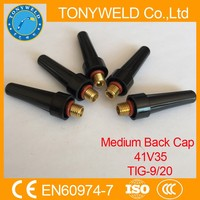 WIG welding parts medium back cap 41V35