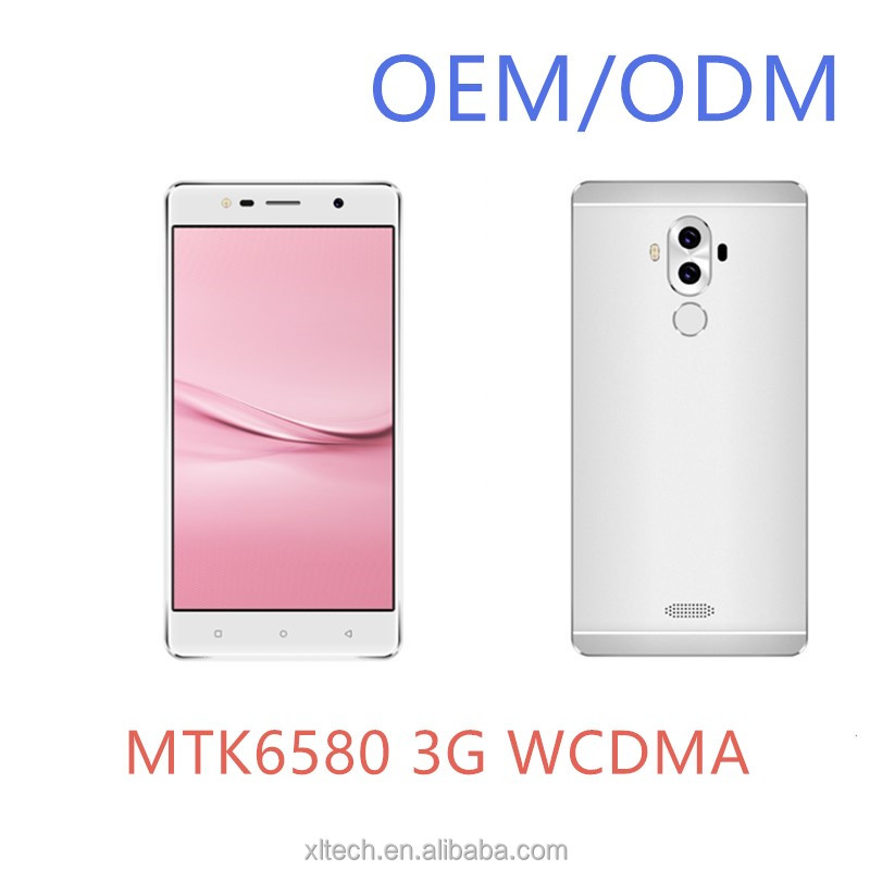 Low price China OEM/ODM Manufacturer MTK6580 Quad core 3G WCDMA Android mobile phone