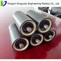 China Industry Directly Supply conveyor idler roller/plastic roller for belt