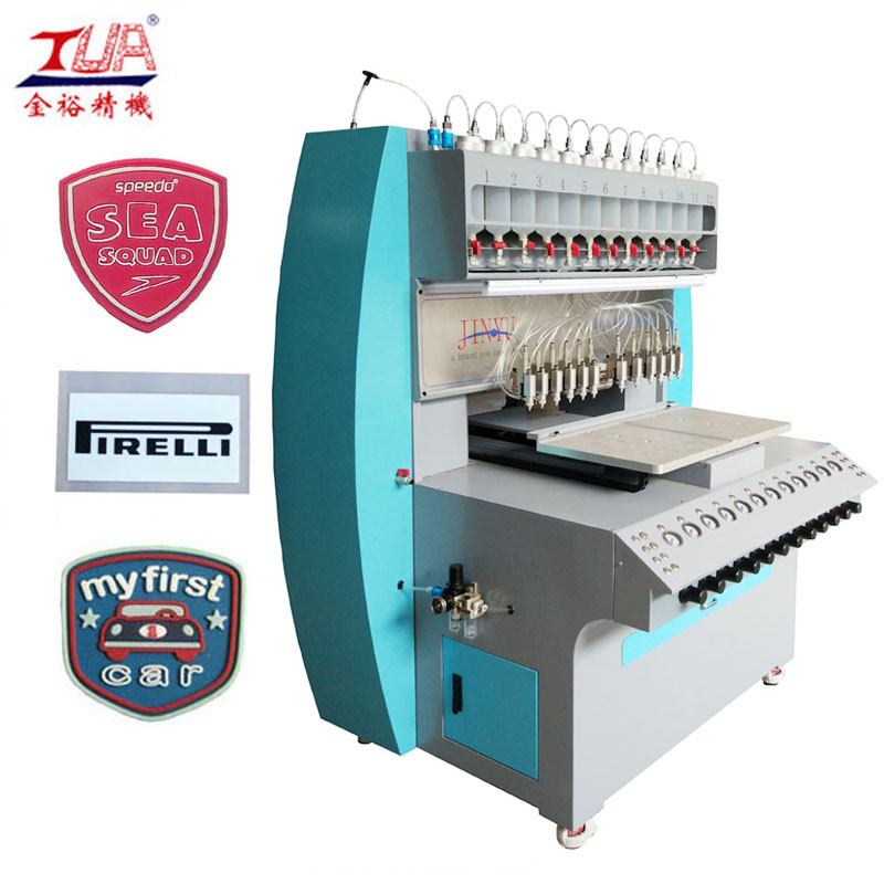 JY-B02 silicone trademark injection machine