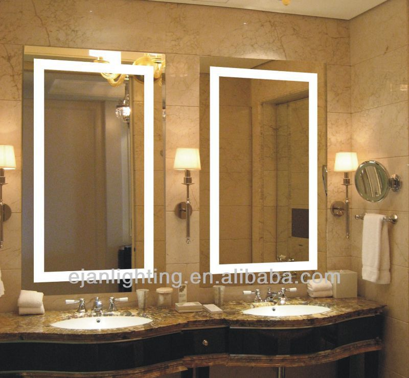 Light Up Led Bathroom Mirror Light With Ce Ul Certificate