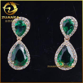fashion jewelry brincos emerald costume jewelry earrings & Fashion Jewelry Brincos Emerald Costume Jewelry Earrings - Buy ...