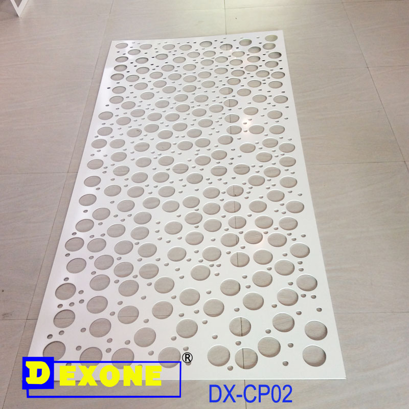 CNC Aluminum decoration panel for exterior cladding