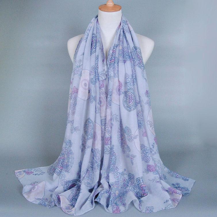 Korea Style Most Beautiful Hijab Scarf For Lady (el1345 ...