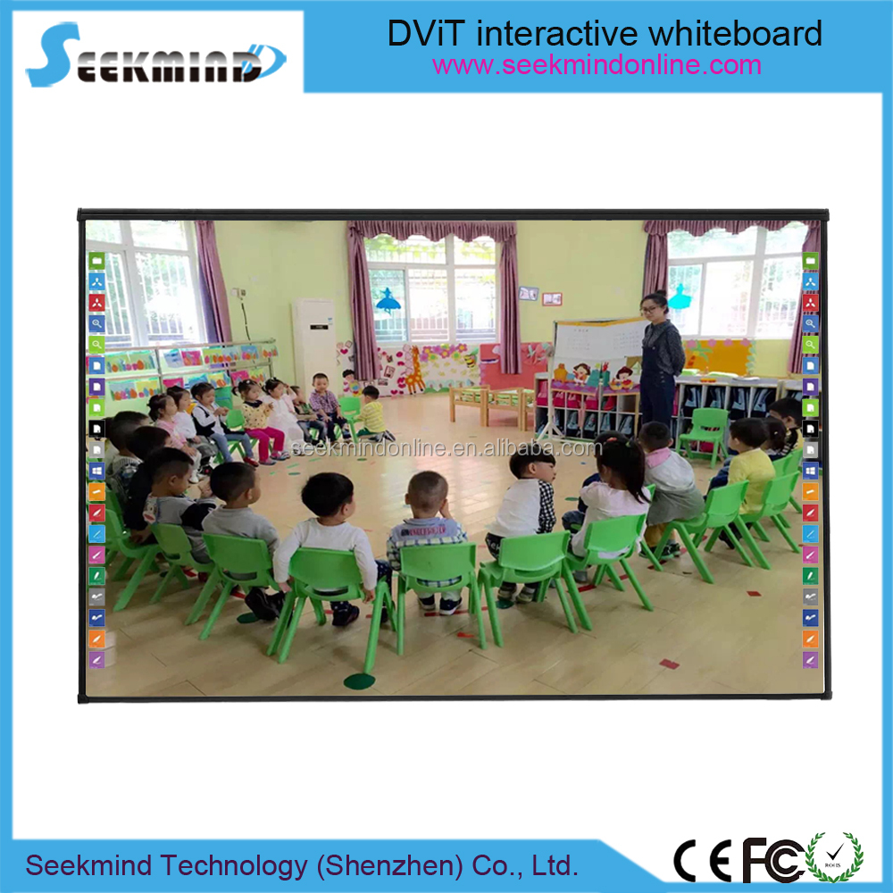 Electronic classroom blackboard finger touch interactive whiteboard school equipment