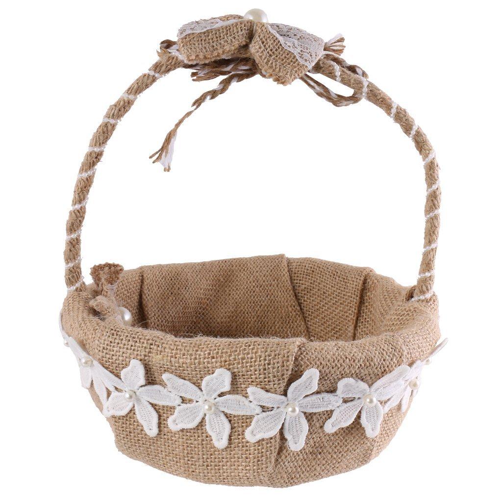Cheap Flower Jute Basket Find Flower Jute Basket Deals On Line At