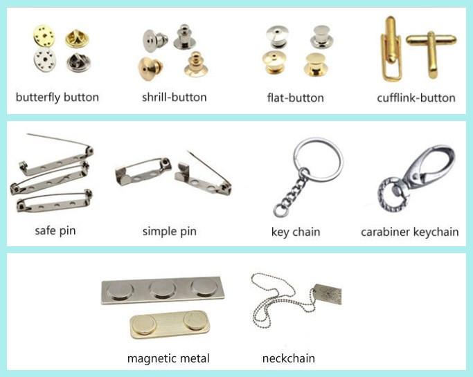 Round Metal Antique Brass Plating Badge/sword Metal Badge ...
