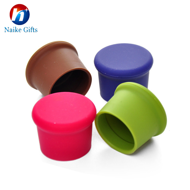 New Design Classics Reusable Silicone Wine Bottle Caps Could Take Anywhere
