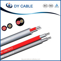 Dual core DC solar cable parallel twin wire for solar panel