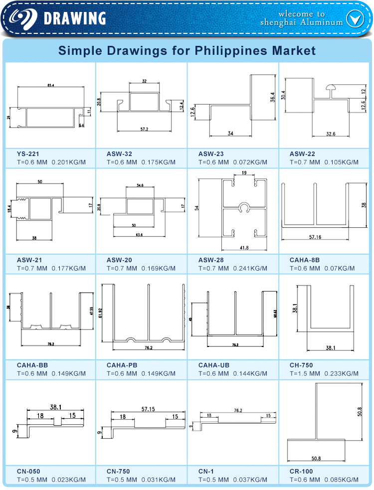 Aluminium Kitchen Profile,Types Of Aluminum Profiles,China Top ...