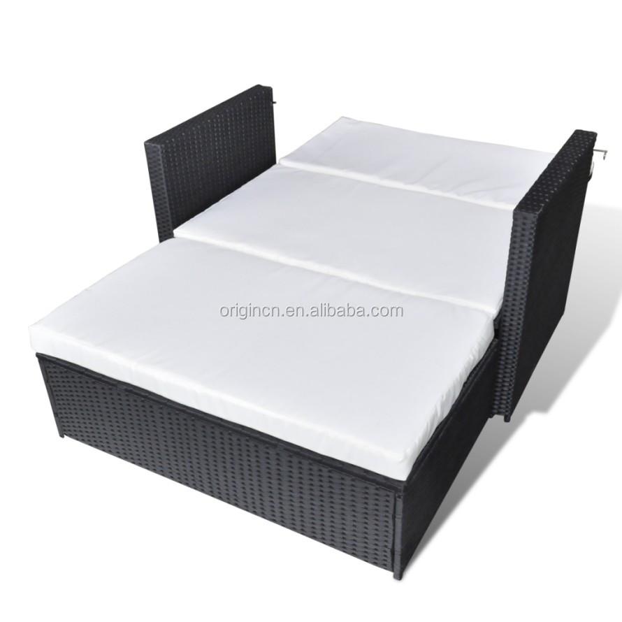 Terrasse Petit Espace Extérieur Utilisé Convertible Inclinable - Canape lit exterieur