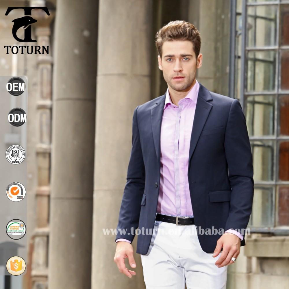 Navy blue blazer mens fashion 18