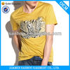 One-Man High Quality Brand Name Tee Shirt Eco-Friendly Vneck