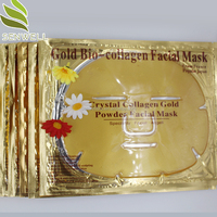 Best price private label 24K gold Bio Collagen facial mask sheet
